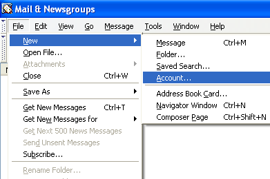 Subscribing to news mozilla org newsgroups with SeaMonkey